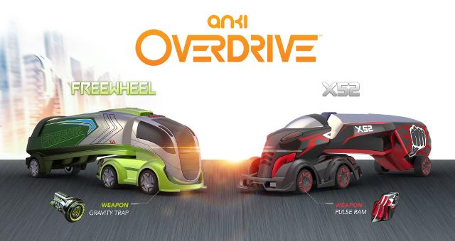 Anki Overdrive Supertrucks weapons