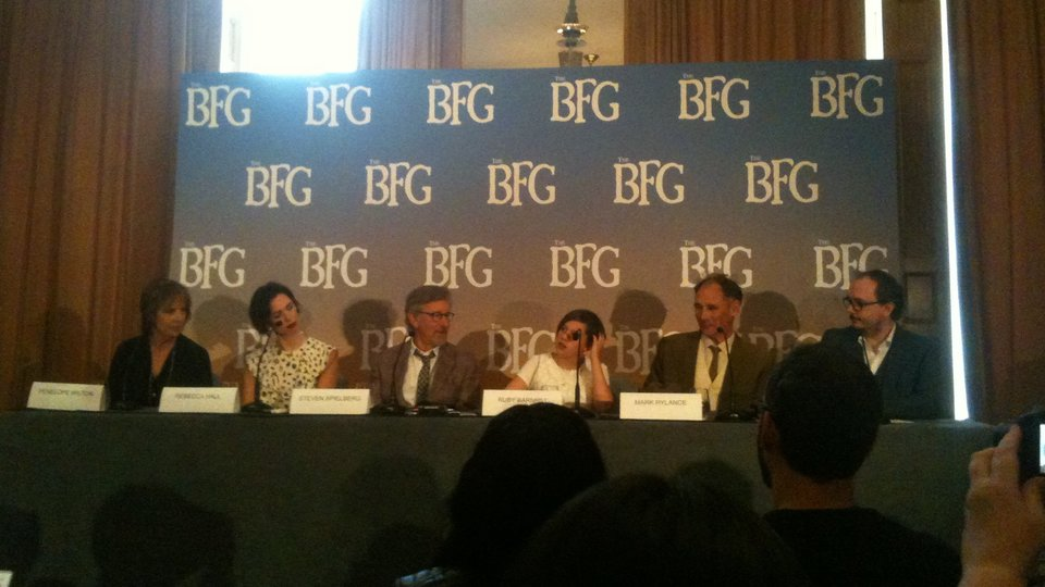 The BFG UK Press Conference