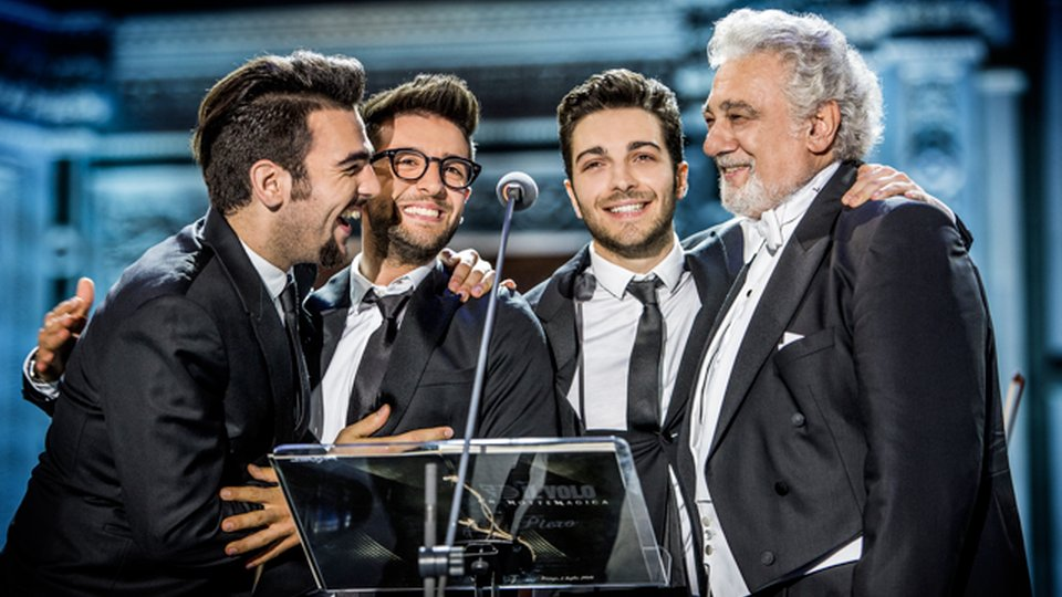 Il Volo and Placido Domingo