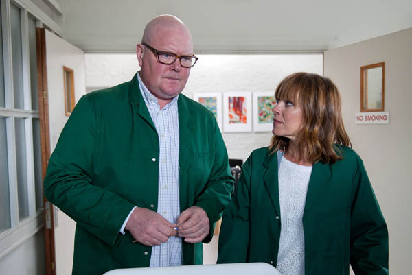 Paddy Kirk & Rhona Goskirk, Emmerdale