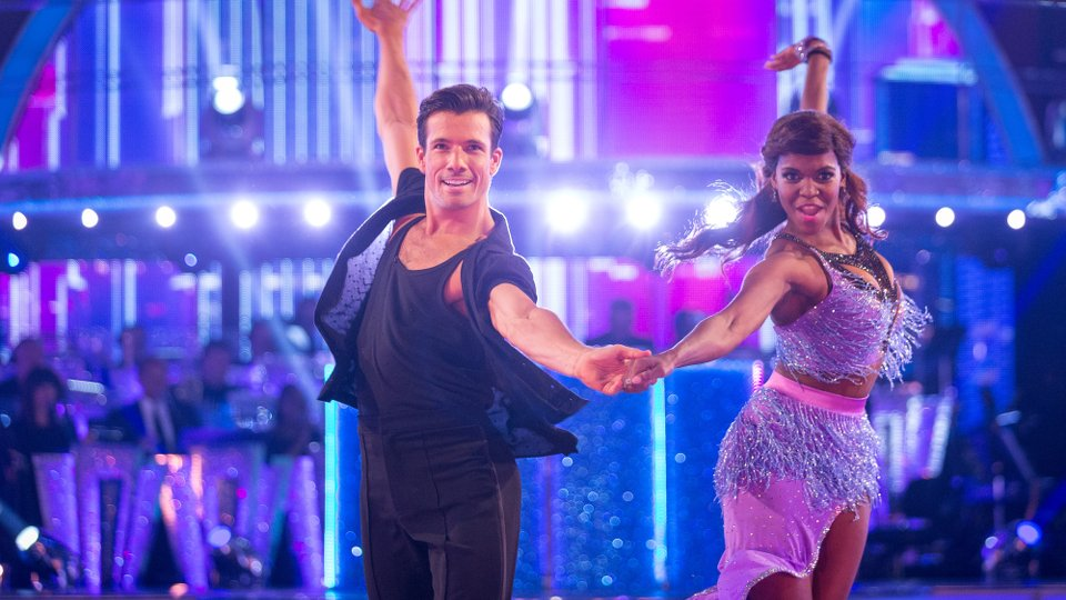 Danny Mac and Oti Mabuse