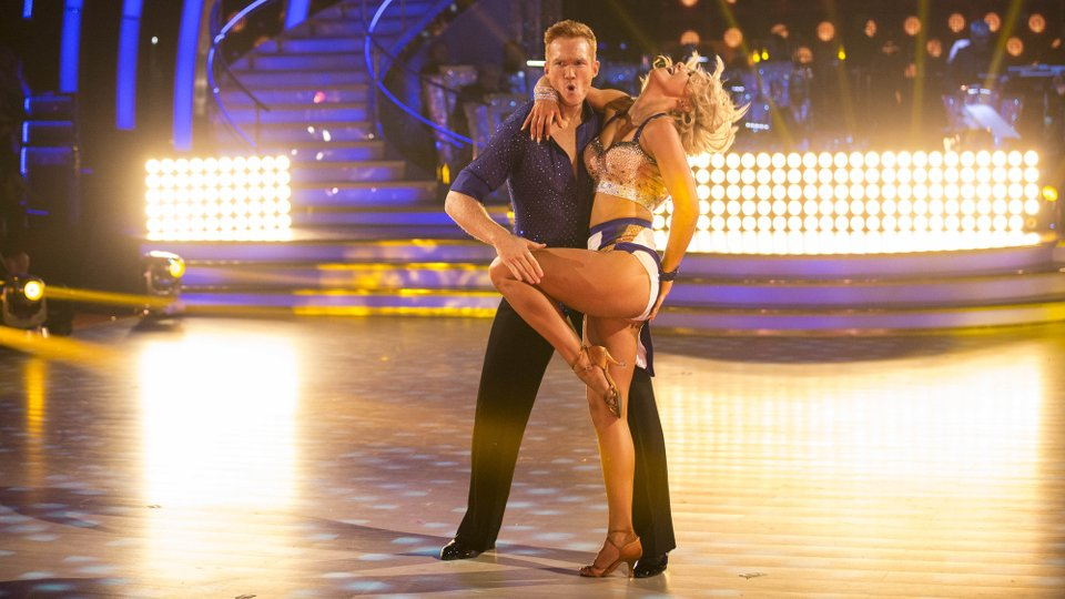 Greg Rutherford and Natalie Lowe week 1