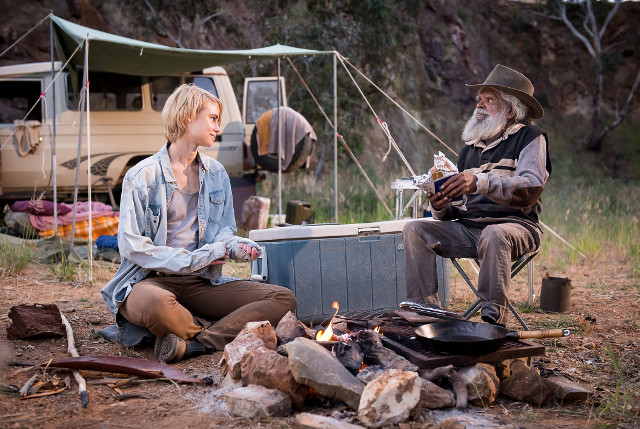 Wolf CreekEpisode 4Lucy Fry as Eve Thorogood and Jack Charles as Uncle Paddy