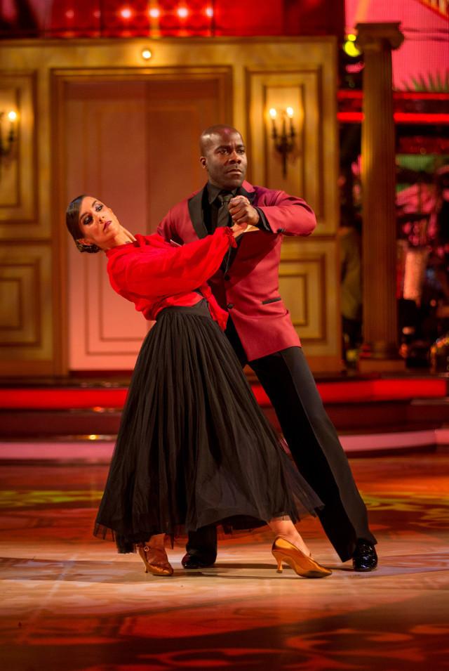 Melvin Odoom & Janette Manrara