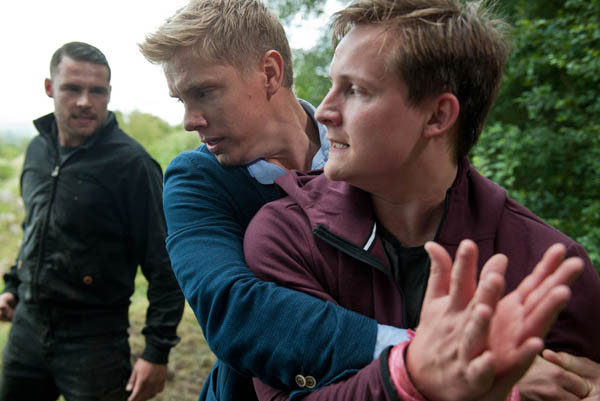 Aaron Dingle, Robert Sugden & Lachlan White, Emmerdale