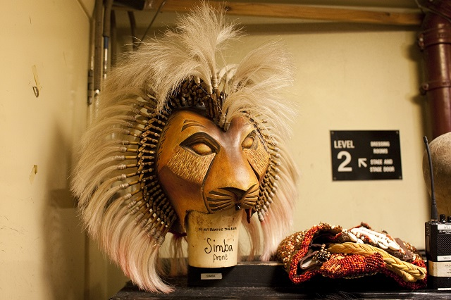 Backstage at Disney's The Lion King