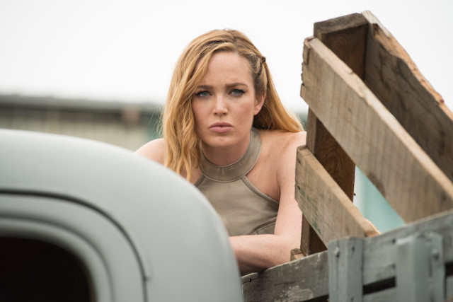 """Caity Lotz as Sara Lance.DC's Legends of Tomorrow 2, ep. 1 """"Out of Time"""""""