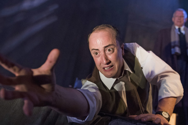 Matthew Spencer as The Actor in The Woman in Black. Photo: PP Productions / WY Playhouse.