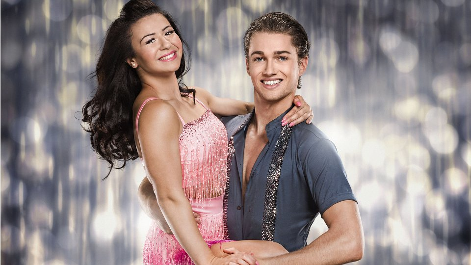 Claudia Fragapane and AJ Pritchard