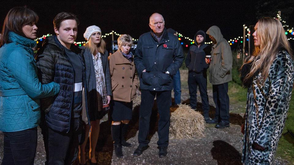 Lachlan, Chrissie & Rebecca White, Emmerdale