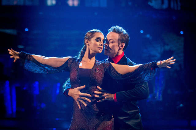 Louise Redknapp & Kevin Clifton
