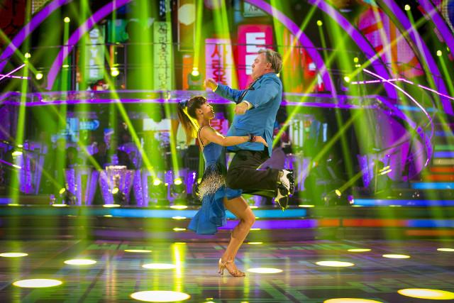 Ed Balls & Katya Jones