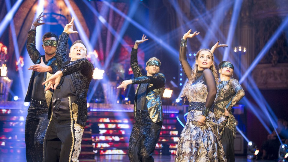 Kevin Clifton and Louise Redknapp week 9