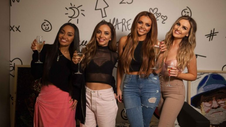 Little Mix Clinch Their First Uk Number One Album With
