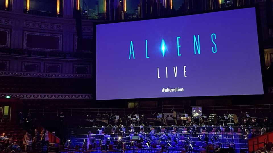 Aliens Live in Concert @ The Royal Albert Hall