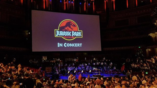 Jurassic Park Live in Concert @ The Royal Albert Hall