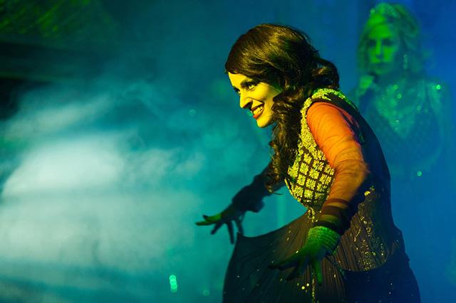 Hannah Price as Morgana. Photo: Tony O'Connell.