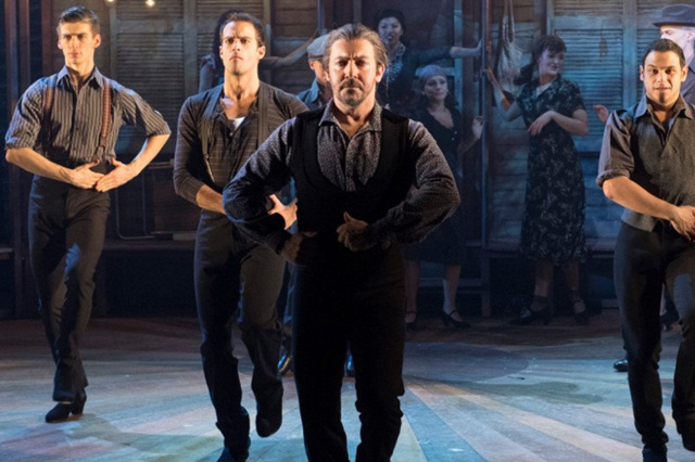 Fernando Mira brings fury and flair to Strictly Ballroom. Photo: Alastair Muir.