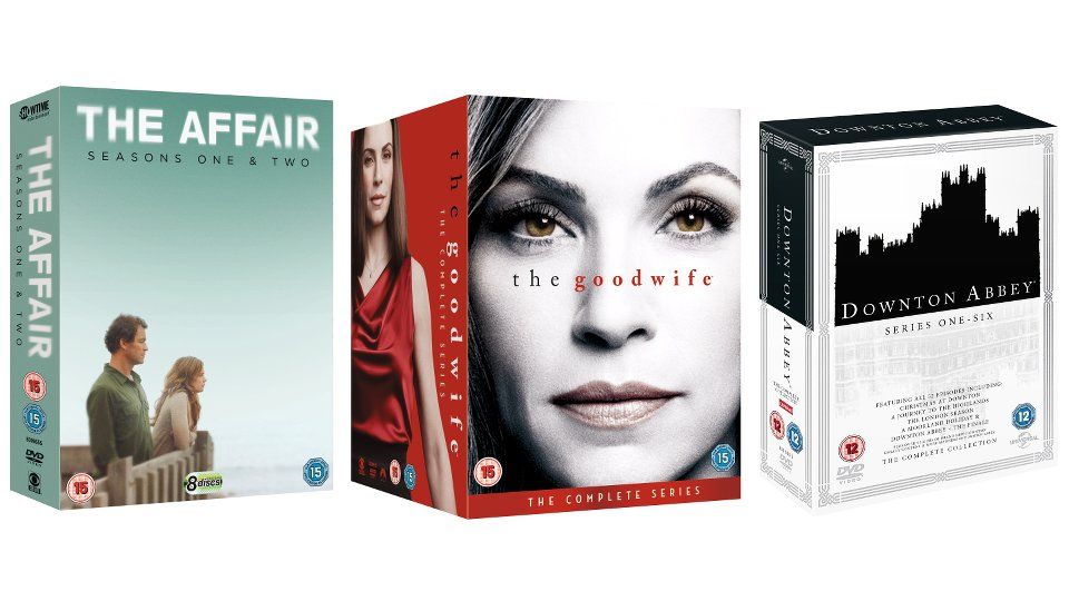 The Affair, The Good Wife and Downton Abbey
