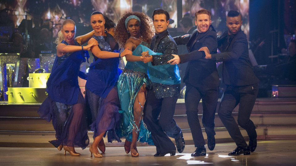 Danny Mac and Oti Mabuse week 11