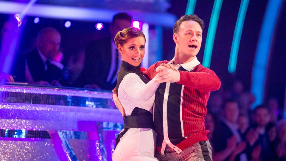 Louise Redknapp and Kevin Clifton semi-final