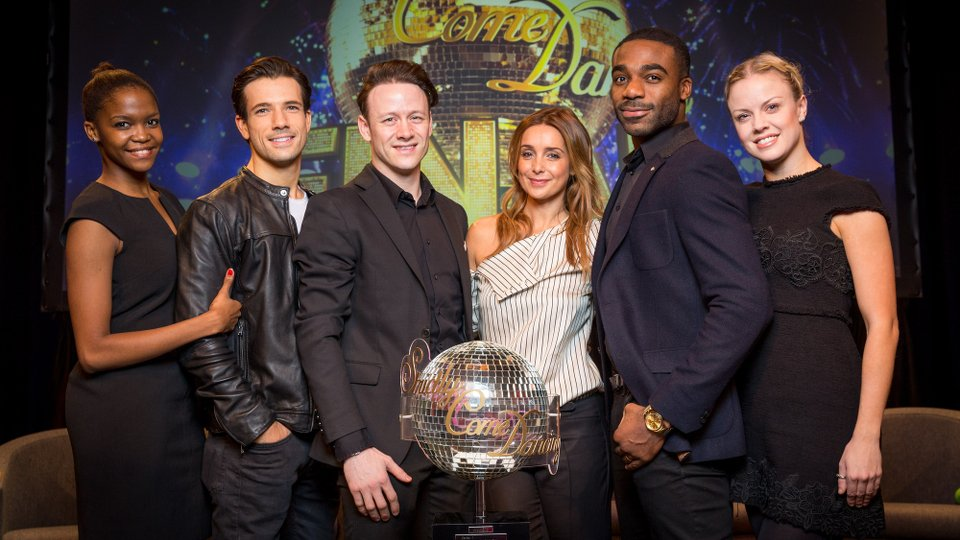 Strictly Come Dancing 2016 finalists