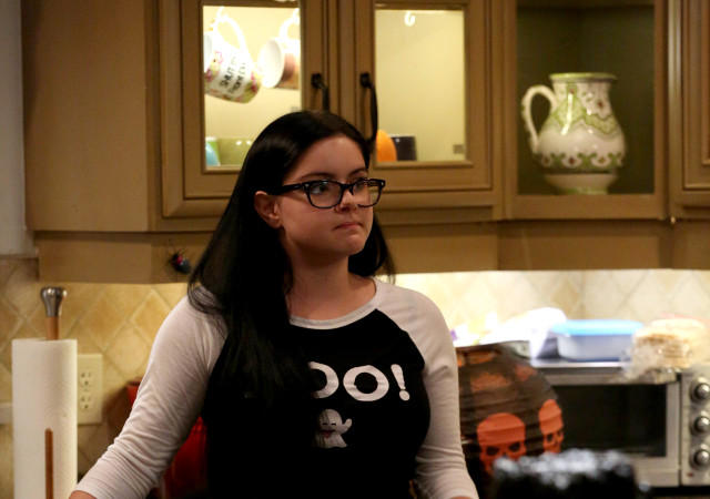 "(L): Alex (Ariel Winter) in ""Halloween 4: The Revenge of Rod Skyhook."""