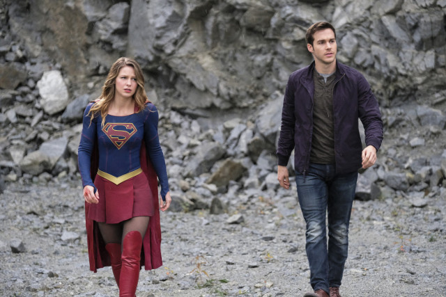 Unit still from Episode 09 of Supergirl