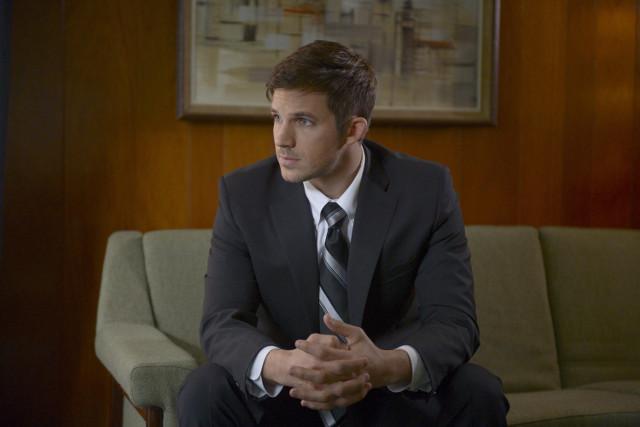 TIMELESS- Episode 107   Talent in Picture: Wyatt Logan