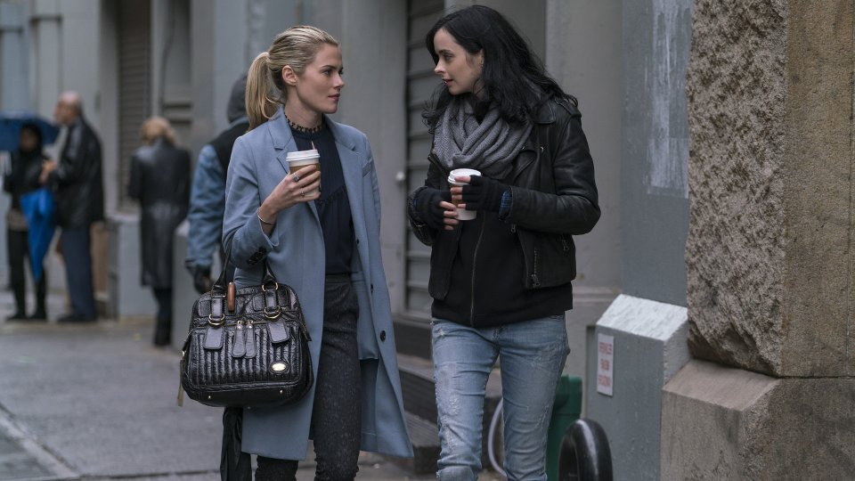 Marvel's The Defenders - Trish Walker and Jessica Jones