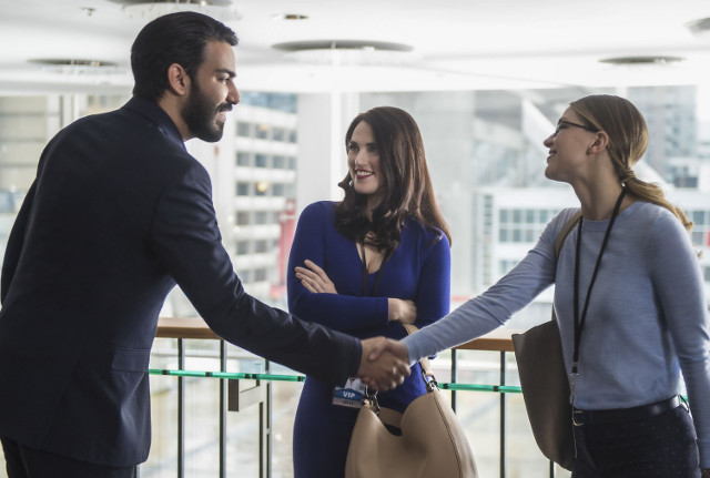 Unit Stills from Ace Reporter, Episode 18 of Supergirl Series 02
