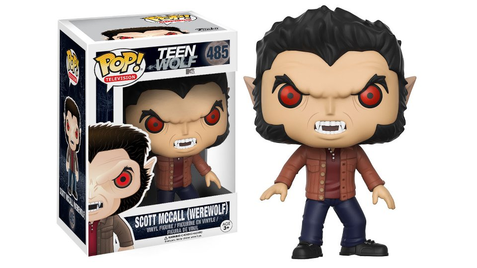 Teen Wolf Pop! figures