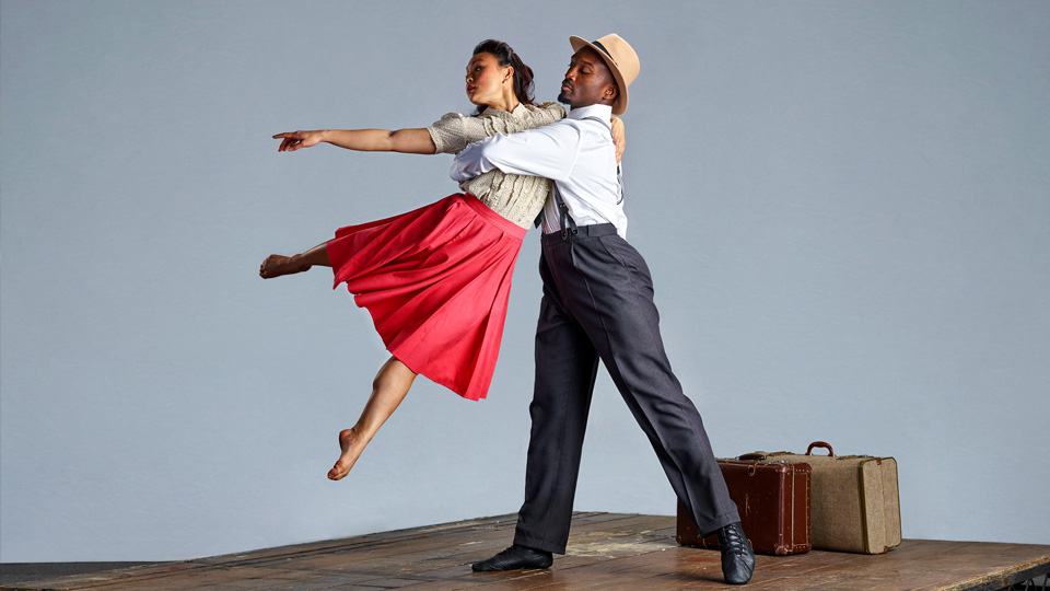 Vanessa Vince-Pang & Prentice Whitlow in Windrush. Credit: Richard Moran.