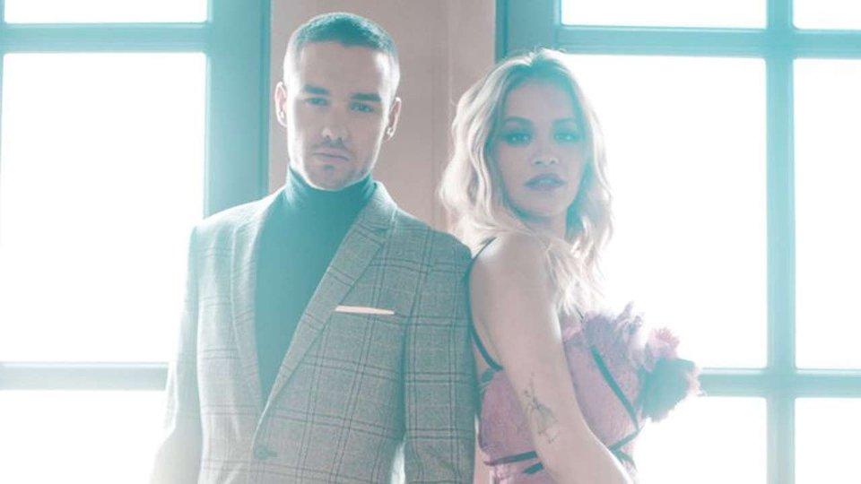 Liam Payne and Rita Ora