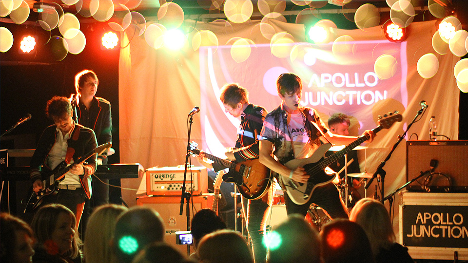 Apollo Junction and Red Light Revival at The Wardrobe. Credit: Samuel Payne.