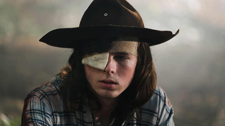 The Walking Dead - Chandler Riggs as Carl