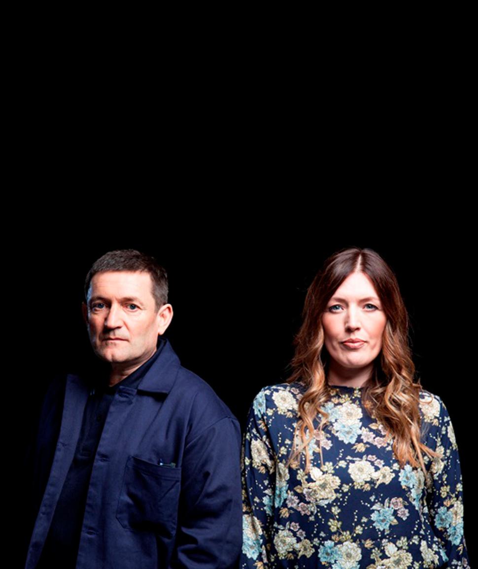 Paul Heaton and Jacqui Abbott