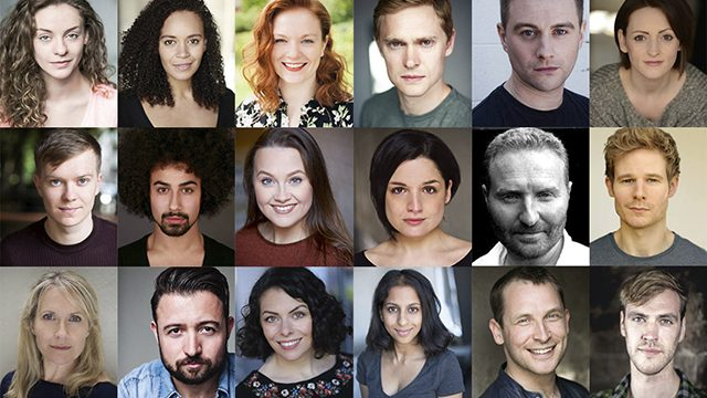 Sunshine on Leith cast. Credit: West Yorkshire Playhouse.