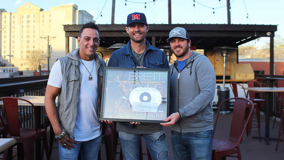 Trent Tomlinson, Brett Young and Tyler Reeve