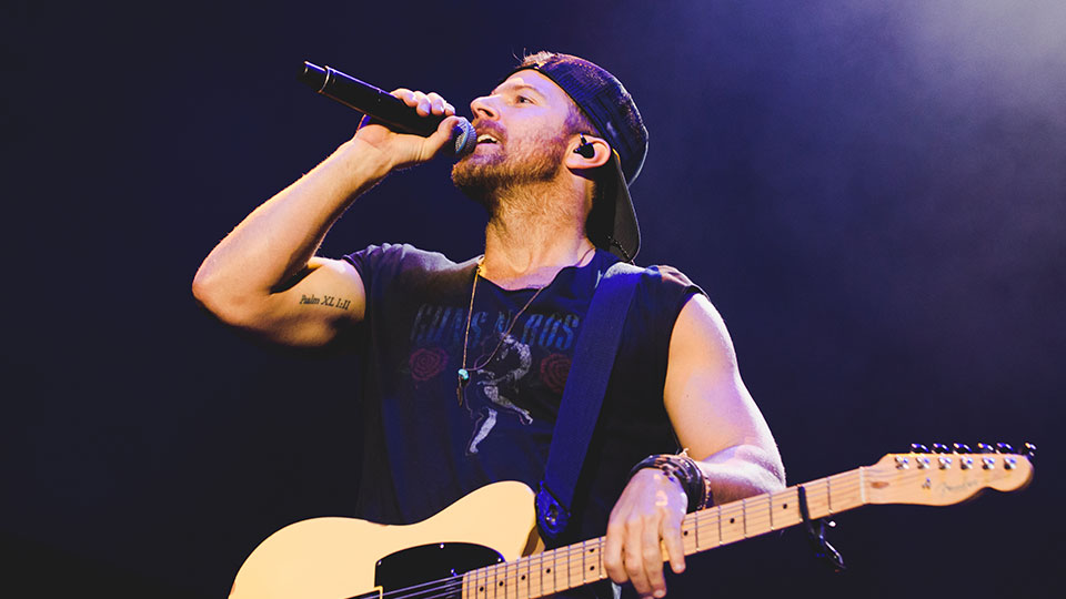Kip Moore at C2C 2018