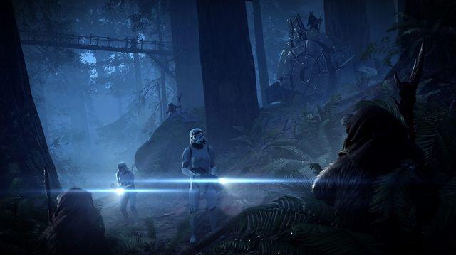 Star Wars Battlefront II - Night on Endor