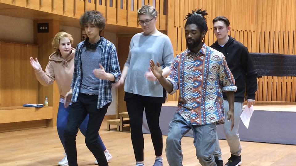Leeds Grand Theatre Actors in Training.