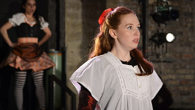 Vanessa Schofield as Louisa Gradgrind in Hard Times. Photographer - Nobby Clark.