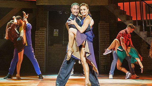Vincent Simone and Flavia Cacace with the company of Tango Moderno. Credit: Manuel Harlan.