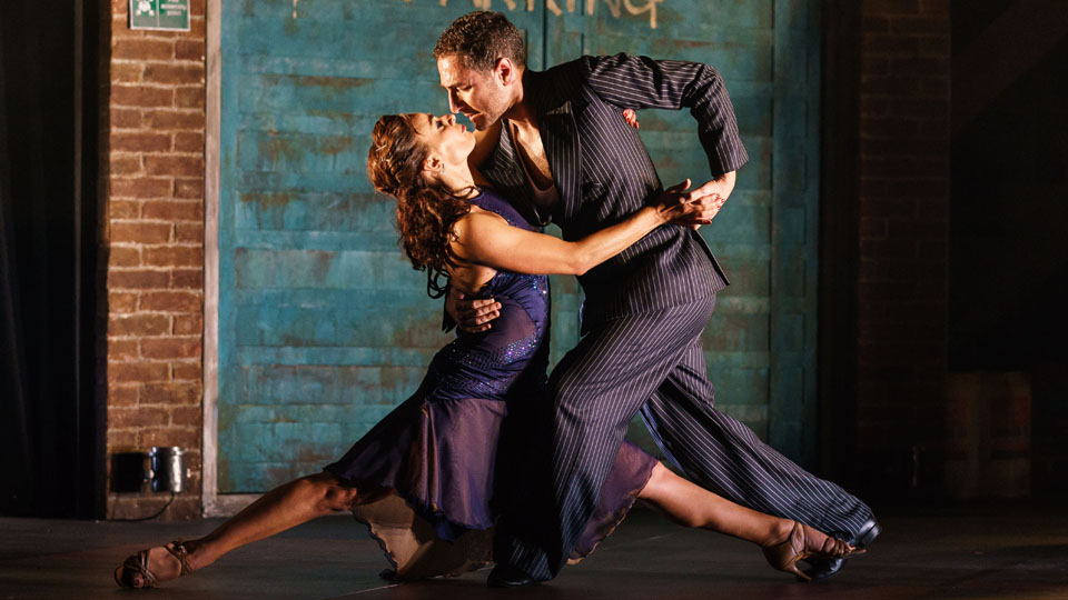 Vincent Simone and Flavia Cacace in Tango Moderno Credit: Manuel Harlan