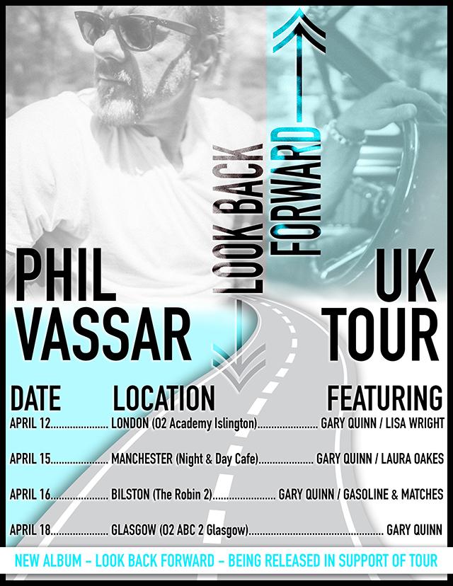 Phil Vassar April 2018 UK tour