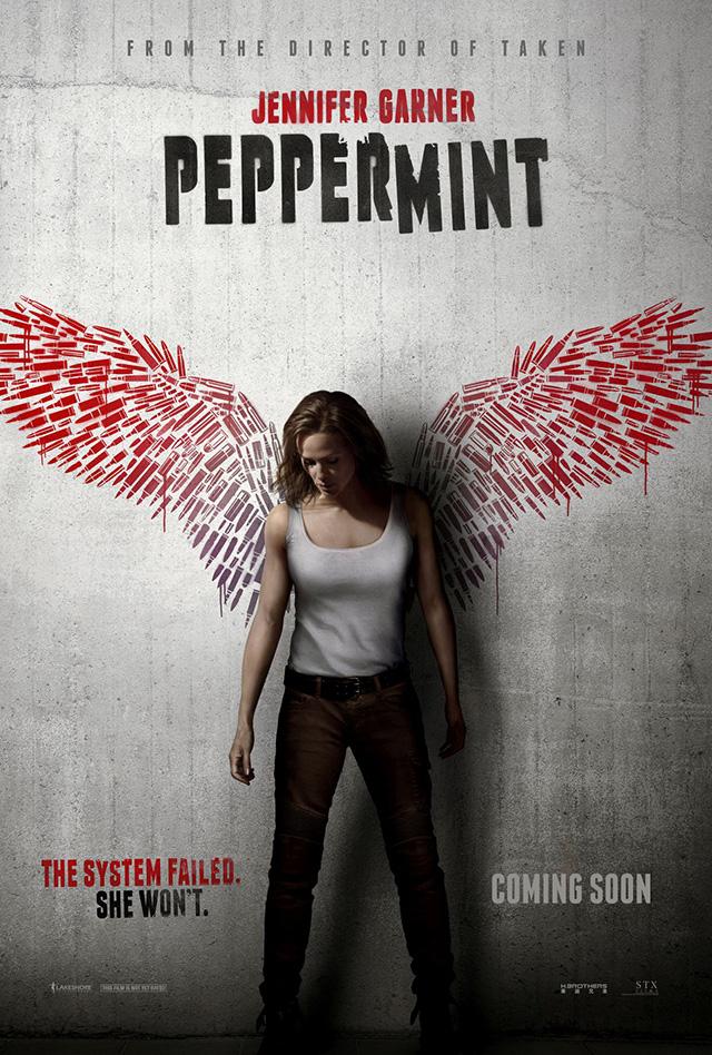 Peppermint - Jennifer Garner