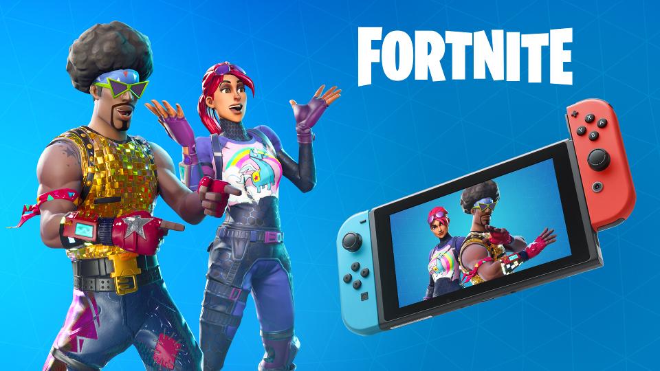 Fortnite Battle Royale Nintendo Switch