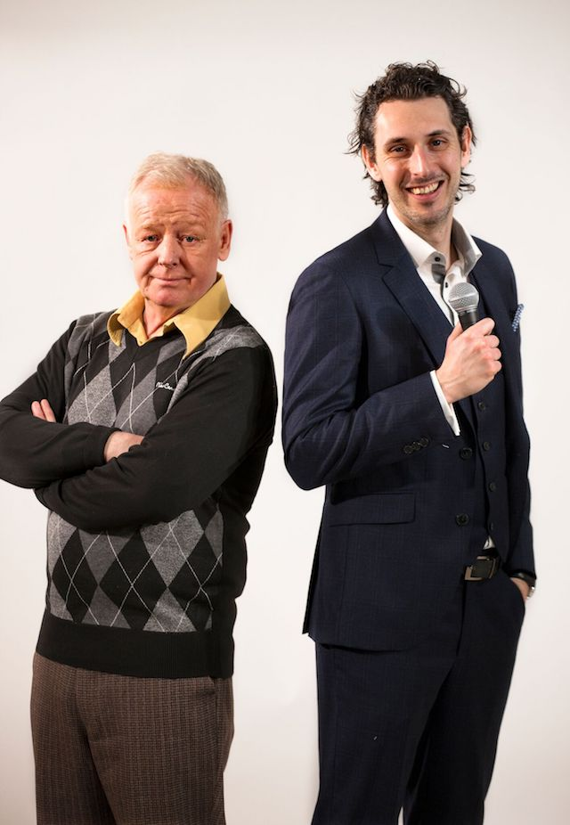 End Of The Pier, Les Dennis and Blake Harrison star in powerful new black comedy End Of The Pier. Photo Credit: Simon Annand