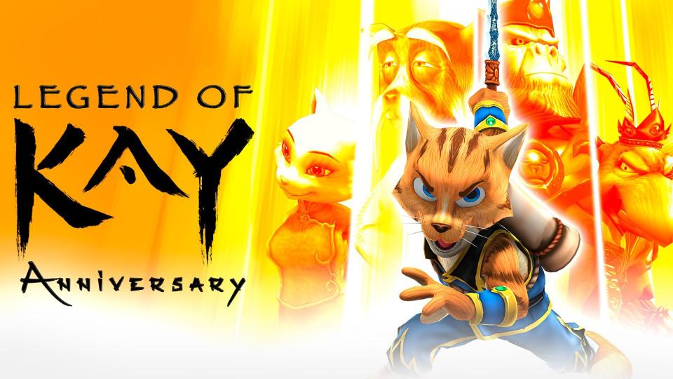 Legend of Kay Anniversary Edition